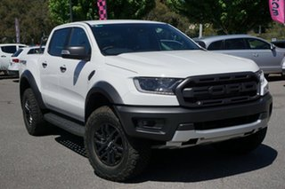 2020 Ford Ranger PX MkIII 2020.75MY Raptor White 10 Speed Sports Automatic Double Cab Pick Up.