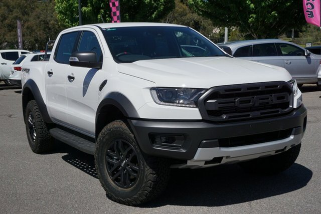 Used Ford Ranger PX MkIII 2020.75MY Raptor Phillip, 2020 Ford Ranger PX MkIII 2020.75MY Raptor White 10 Speed Sports Automatic Double Cab Pick Up