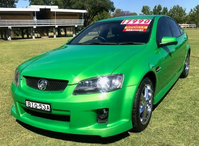 Used Holden Commodore VE MY09.5 SV6 Tamworth, 2009 Holden Commodore VE MY09.5 SV6 Green 6 Speed Manual Sedan