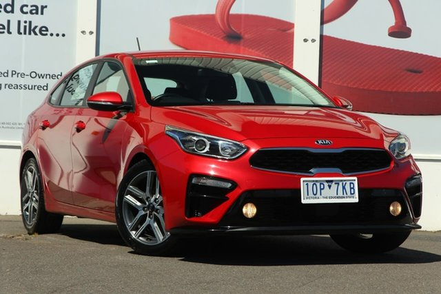 Pre-Owned Kia Cerato BD MY19 Sport Ferntree Gully, 2019 Kia Cerato BD MY19 Sport Red 6 Speed Sports Automatic Hatchback