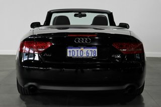 2010 Audi A5 8T MY10 S Tronic Quattro Black 7 Speed Sports Automatic Dual Clutch Cabriolet