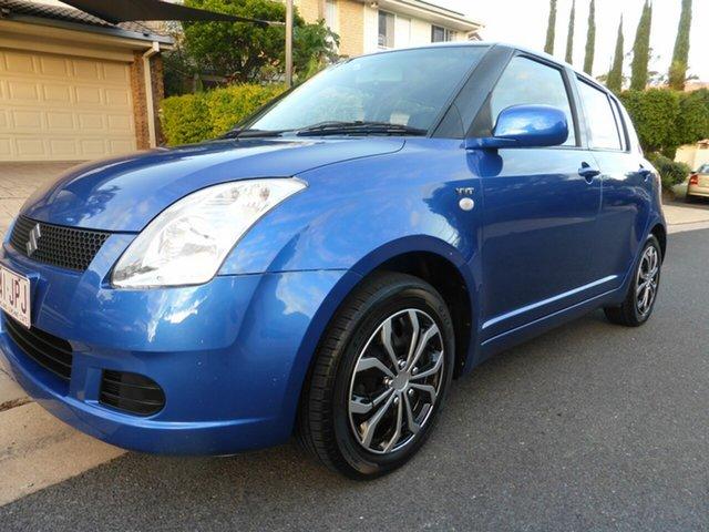 Used Suzuki Swift EZ Southport, 2006 Suzuki Swift EZ Blue 4 Speed Automatic Hatchback