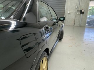 2004 Subaru Impreza S MY05 WRX STi AWD Black 6 Speed Manual Sedan