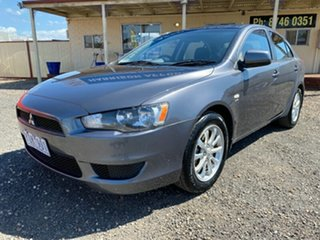 2011 Mitsubishi Lancer CJ MY11 SX Sportback Grey 5 Speed Manual Hatchback