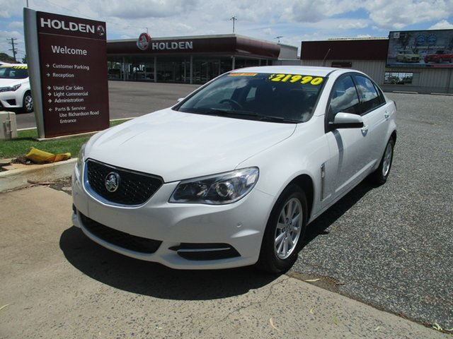 Used Holden Commodore VF MY15 Evoke North Rockhampton, 2015 Holden Commodore VF MY15 Evoke White 6 Speed Sports Automatic Sedan