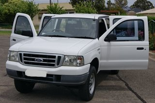 2006 Ford Courier PH GL (4x4) White 5 Speed Manual Crew Cab Pickup