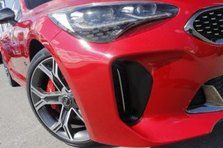 2018 Kia Stinger CK MY18 GT Fastback Hiroshima Red/ 8 Speed Sports Automatic Sedan.