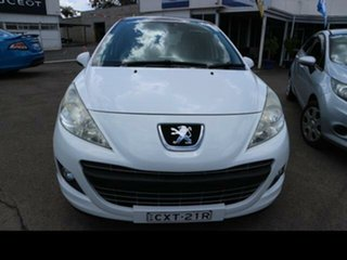 2012 Peugeot 207 MY10 XT White 4 Speed Automatic Hatchback