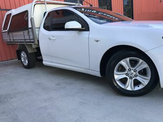 2010 Ford Falcon FG R6 Super Cab White 4 Speed Sports Automatic Cab Chassis