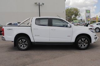 2017 Holden Colorado RG MY18 Storm Pickup Crew Cab White 6 Speed Sports Automatic Utility.