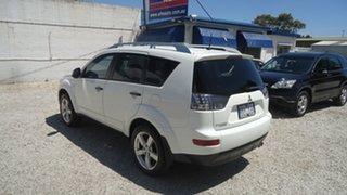 2008 Mitsubishi Outlander ZG MY08 Limited Edition White 6 Speed Sports Automatic Wagon.
