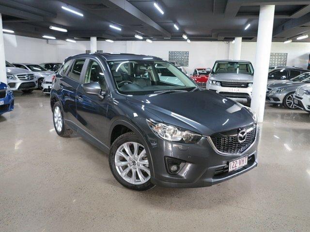 Used Mazda CX-5 KE1022 Grand Touring SKYACTIV-Drive AWD Albion, 2014 Mazda CX-5 KE1022 Grand Touring SKYACTIV-Drive AWD Grey 6 Speed Sports Automatic Wagon