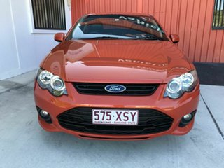 2013 Ford Falcon FG MkII XR6 Orange 6 Speed Sports Automatic Sedan.