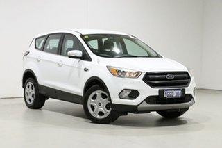 2017 Ford Escape ZG Ambiente (FWD) White 6 Speed Automatic SUV.