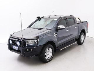 2016 Ford Ranger PX MkII MY17 XLT 3.2 (4x4) Grey 6 Speed Automatic Double Cab Pick Up