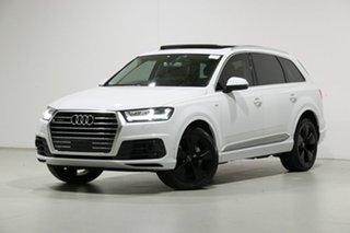 2016 Audi Q7 4M 3.0 TDI Quattro Glacier White 8 Speed Automatic Tiptronic Wagon.
