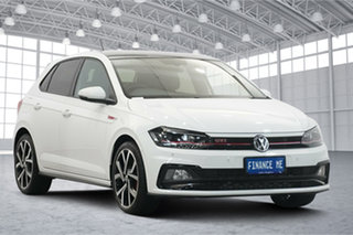 2019 Volkswagen Polo AW MY19 GTI DSG Pure White 6 Speed Sports Automatic Dual Clutch Hatchback.