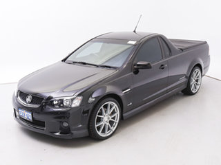 2012 Holden Commodore VE II MY12 SV6 Thunder Black 6 Speed Manual Utility