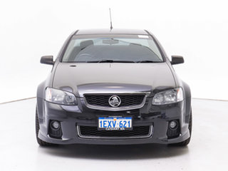 2012 Holden Commodore VE II MY12 SV6 Thunder Black 6 Speed Manual Utility.