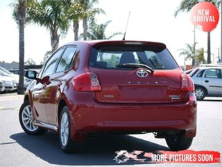 2008 Toyota Corolla ZRE152R Levin SX Red 6 Speed Manual Hatchback.