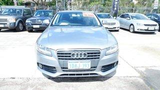 2009 Audi A4 B8 8K MY10 Multitronic Grey 8 Speed Constant Variable Sedan.