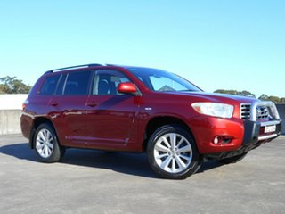2009 Toyota Kluger GSU45R Altitude AWD Red 5 Speed Sports Automatic Wagon.