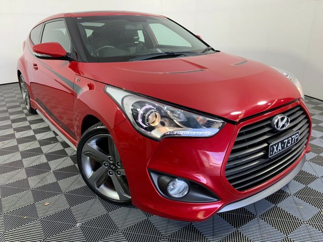 Used Hyundai Veloster FS2 SR Coupe Turbo Wayville, 2012 Hyundai Veloster FS2 SR Coupe Turbo Red 6 Speed Manual Hatchback