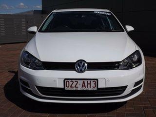 2012 Volkswagen Golf VII 90TSI DSG Comfortline 7 Speed Sports Automatic Dual Clutch Hatchback