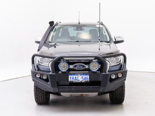 2016 Ford Ranger PX MkII MY17 XLT 3.2 (4x4) Grey 6 Speed Automatic Double Cab Pick Up.