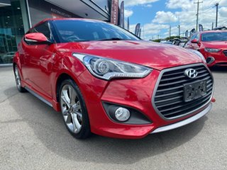 2015 Hyundai Veloster FS4 Series II SR Coupe Turbo + Red 6 Speed Manual Hatchback