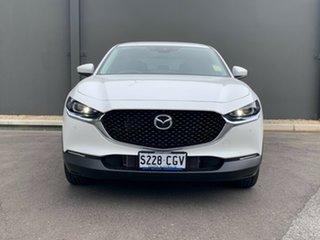 2020 Mazda CX-30 DM2W7A G20 SKYACTIV-Drive Astina Snowflake White 6 Speed Sports Automatic Wagon.