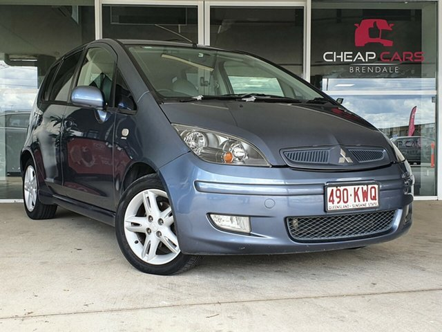Used Mitsubishi Colt RG XLS Brendale, 2005 Mitsubishi Colt RG XLS Blue 1 Speed Constant Variable Hatchback