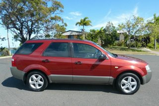 2005 Ford Territory SX TS Red 4 Speed Sports Automatic Wagon.