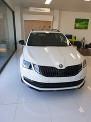 2020 Skoda Octavia NE MY20.5 Sport DSG 110TSI Candy White 7 Speed Sports Automatic Dual Clutch Wagon.
