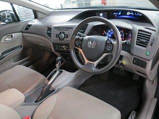 2012 Honda Civic 9th Gen VTi-L Black 5 Speed Sports Automatic Sedan