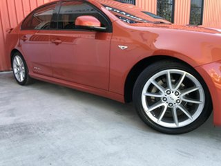 2013 Ford Falcon FG MkII XR6 Orange 6 Speed Sports Automatic Sedan