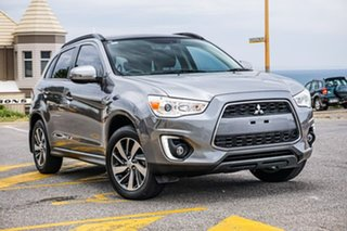 2014 Mitsubishi ASX XB MY14 Aspire Silver 6 Speed Constant Variable Wagon.