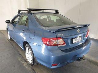 2012 Toyota Corolla ZRE152R MY11 Ascent Sport Blue 6 Speed Manual Sedan