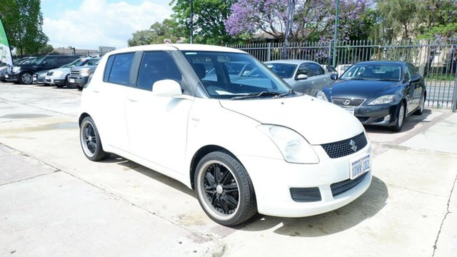 Used Suzuki Swift RS415 St James, 2008 Suzuki Swift RS415 White 5 Speed Manual Hatchback