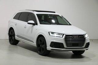 2016 Audi Q7 4M 3.0 TDI Quattro Glacier White 8 Speed Automatic Tiptronic Wagon