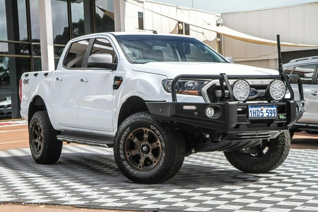 Used Ford Ranger PX MkII XLS Double Cab Attadale, 2017 Ford Ranger PX MkII XLS Double Cab White 6 Speed Manual Utility