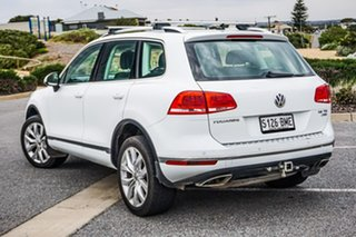 2016 Volkswagen Touareg 7P MY16 V6 TDI Tiptronic 4MOTION White 8 Speed Sports Automatic Wagon.