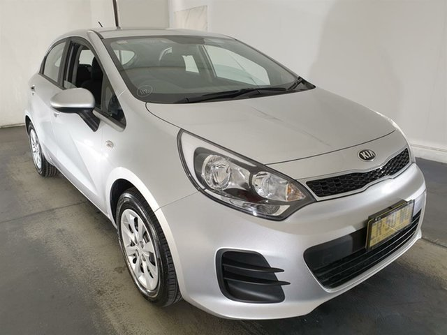 Used Kia Rio UB MY16 S Maryville, 2016 Kia Rio UB MY16 S Silver 4 Speed Sports Automatic Hatchback