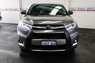 2015 Toyota Kluger GSU55R Grande (4x4) Predawn Grey 6 Speed Automatic Wagon.