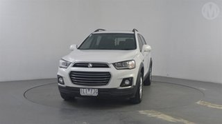 2017 Holden Captiva CG MY16 Active 7 Seater White 6 Speed Automatic Wagon.