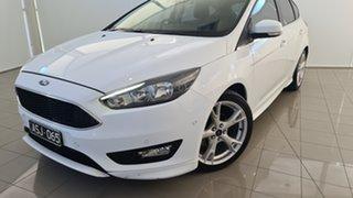 2015 Ford Focus LZ Titanium White 6 Speed Automatic Hatchback.