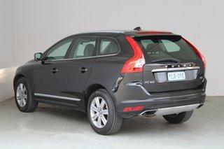 2016 Volvo XC60 DZ MY16 T5 Geartronic Luxury Onyx Black 8 Speed Sports Automatic Wagon.