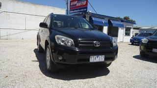 2008 Toyota RAV4 ACA33R MY08 Cruiser Black 4 Speed Automatic Wagon