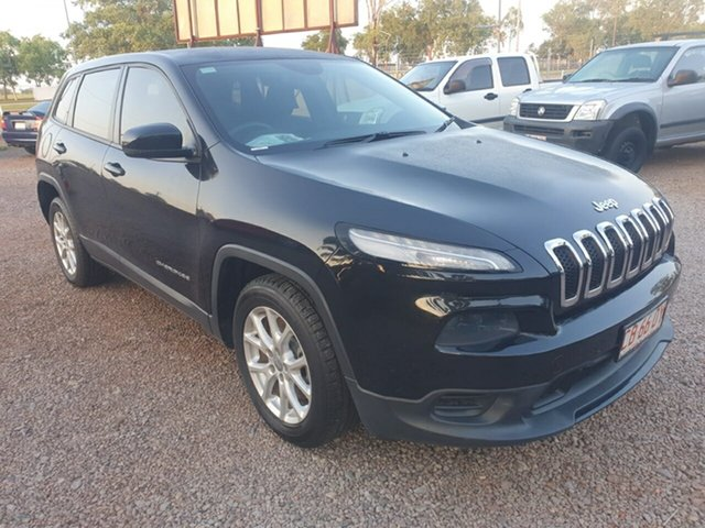 Used Jeep Cherokee KL Sport Pinelands, 2014 Jeep Cherokee KL Sport Black 9 Speed Sports Automatic Wagon