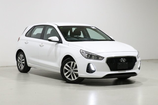 Used Hyundai i30 PD2 MY20 Active Bentley, 2019 Hyundai i30 PD2 MY20 Active White 6 Speed Automatic Hatchback